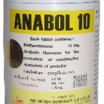 Anabol by British Dispensary 10mg x 500 tablets
