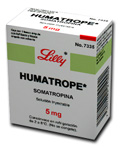 HGH Humatrope by Eli Lilly 30IU