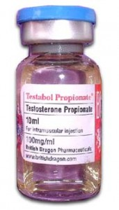 Testabol Propionate by British Dragon 100mg/ml 10ml vial
