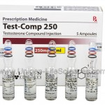 Test-Comp 250 – Testosterone Compound 250mg/1ml x 5 amps