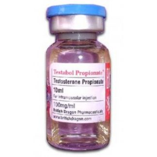 Testabol Propionate by British Dragon 100mg/ml 10ml vial
