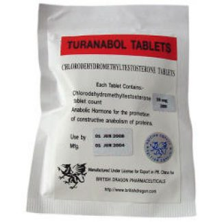 Turanabol by British Dragon 10mg x 100 tablets