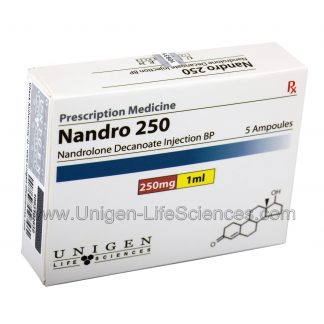 Nandrolone Decanoate 250mg/1ml x 5 amps by Unigen Life Sciences