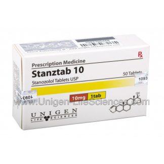 Stanztab 10 - Stanozolol 10mg x 50 tablets
