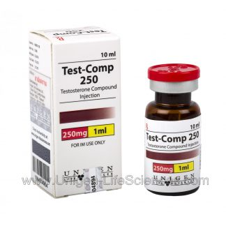 Testosterone Compound 250mg/1ml x 10ml by Unigen Life Sciences